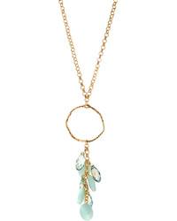 Panacea Mint Crystal Pendant Necklace
