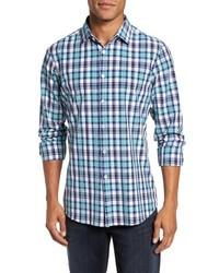 Monterrey plaid sport shirt medium 8576686