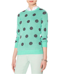 The limited polka dot sweater medium 197310