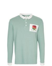 Kent & Curwen Flower Patch Polo Shirt