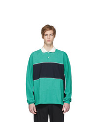 Name Green Dolman Sleeve Polo