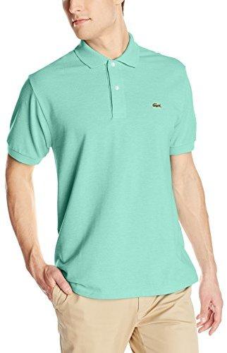 c2ae18e9d295a ... Lacoste Short Sleeve Classic Chine Fabric L1264 Original Fit Polo Shirt