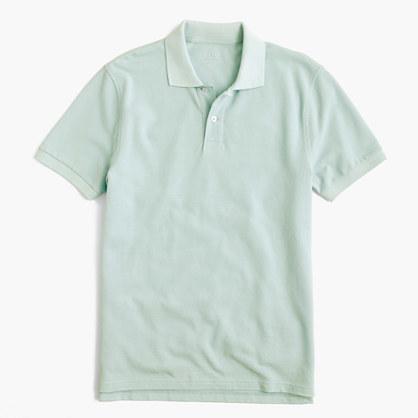 2859f1be2 J.Crew Tall Classic Piqu Polo Shirt, $39 | J.Crew | Lookastic.com