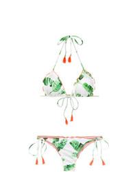 BRIGITTE Foliage Print Bikini Set