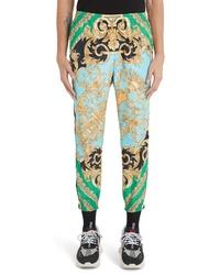 Versace Baroque Print Athletic Pants