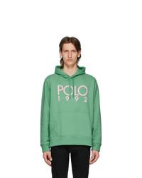 Polo Ralph Lauren Green Fleece Logo Hoodie