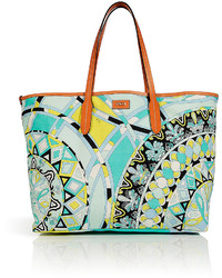 Printed pvc tote medium 115411