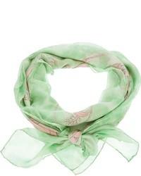 Ferragamo vintage floral print scarf medium 27222