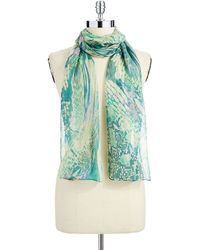 Collection 18 Snakeskin Print Scarf