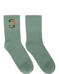 Gucci Green Band Socks