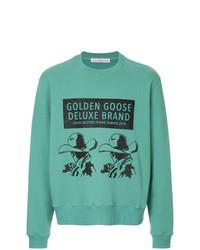 Mint Print Sweatshirt