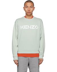 Kenzo Green Logo Sweatshirt
