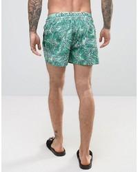 Calvin Klein Ck Print Swim Shorts