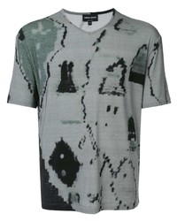 Giorgio Armani Abstract Print T Shirt
