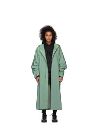 Fear Of God Green Sixth Collection Hooded Raincoat
