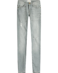 Current/Elliott Distressed Skinny Jeans