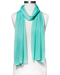Xhilaration Jersey Knit Fashion Scarf Mint