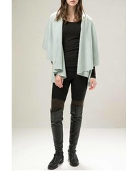 Look By M Basic Shawl Vest