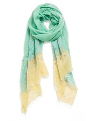 Tarnish Embroidered Scarf