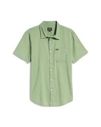 Brixton Charter Oxford Woven Short Sleeve Button Up Shirt