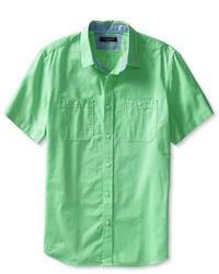 Banana Republic Cotton Short Sleeve Utility Shirt