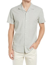 Selected Homme Resort Short Sleeve Button Up Camp Shirt