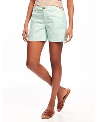 Old Navy Mid Rise Everyday Khaki Shorts For