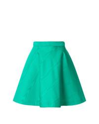 MSGM High Waisted Skater Skirt