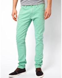 Lee Jeans Luke Skinny Fit Ice Green