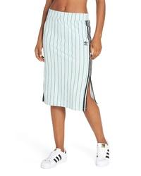 Mint Slit Pencil Skirt