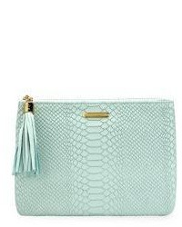 All in one python embossed leather clutch medium 3755856