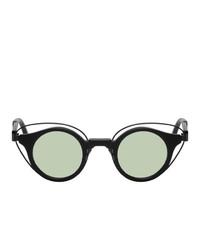 Kuboraum Black N10 Bm Sunglasses