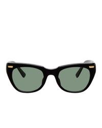 Undercover Black Square Sunglasses