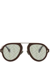 Fendi Burgundy Force Sunglasses