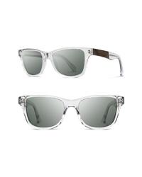 Shwood Canby 54mm Acetate Wood Sunglasses