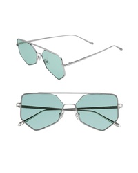 BONNIE CLYDE Figueroa Ii 57mm Aviator Sunglasses
