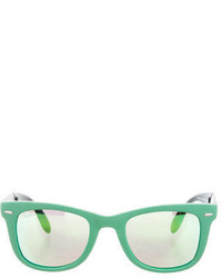 Ray-Ban Folding Wayfarer Reflective Sunglasses