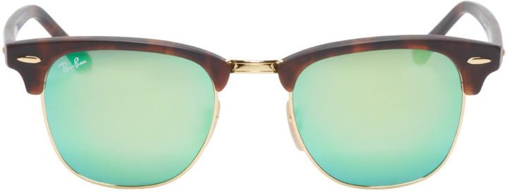 6ba82febc8c1 ... official store ray ban gold tortoiseshell clubmaster sunglasses 5a37b  fab05