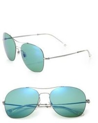 Gucci Metal Aviator Sunglasses