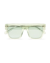 Stella McCartney Icy Ice Square Frame Acetate Sunglasses