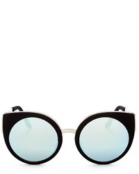Quay Last Dance Rounded Cat Eye Sunglasses 53mm