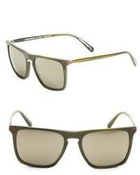 Oliver Peoples Rue De Sevres 54mm Rectangular Sunglasses