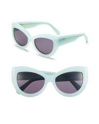Wildfox Kitten 56mm Sunglasses Mint Green One Size