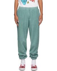 Brain Dead Green Reverse Fleece Lounge Pants