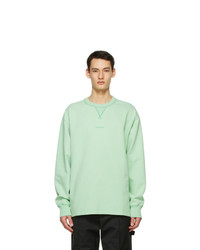 Acne Studios Green Logo Sweatshirt
