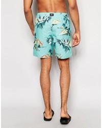 O'Neill Hawaiian Swim Shorts In Green