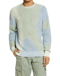 Obey Tie Dye Organic Cotton Sweater