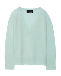 Mint V-neck Sweater