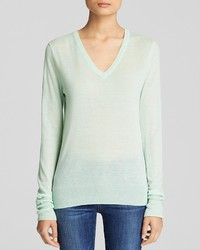 Equipment Sweater Cecile V Neck Cashmere