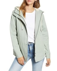 Rip Curl Gabby Fleece Lined Hooded Jacket